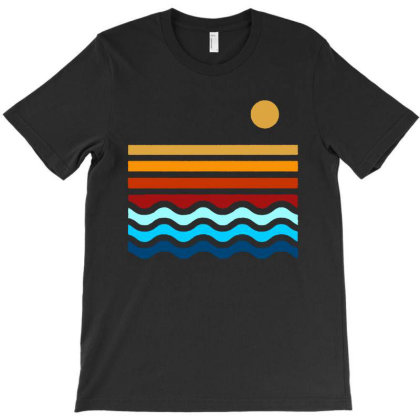 Beach Stack T-shirt Designed By Feelgood Tees