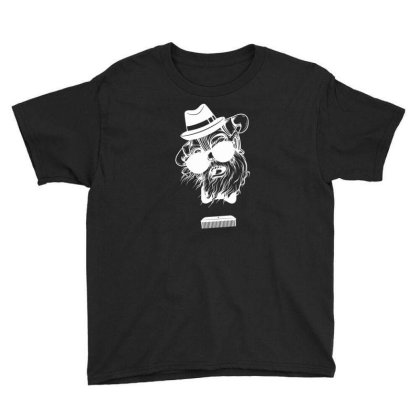 Comb Skull New Youth Tee Designed By H4ikal