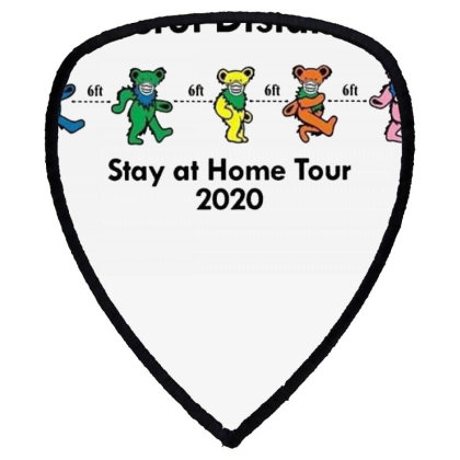 Grateful Distancing Stay At Home Tour 2020 Shield S Patch Designed By Cuser3772