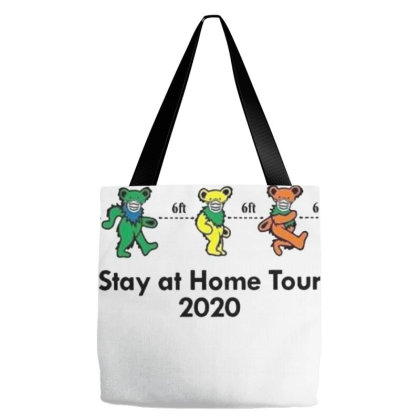 Grateful Distancing Stay At Home Tour 2020 Tote Bags Designed By Cuser3772