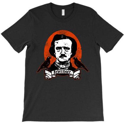 Edgar Allan Poe T-shirt Designed By Feelgood Tees