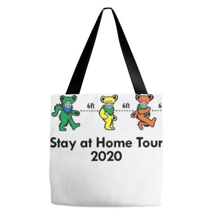 Grateful Distancing  Stay At Home Tour 2020 Tote Bags Designed By Cuser3143