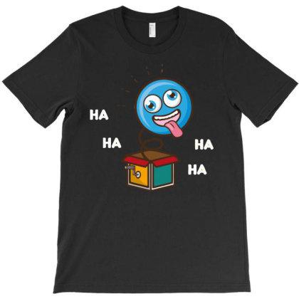 Hahaha T-shirt Designed By H4ikal