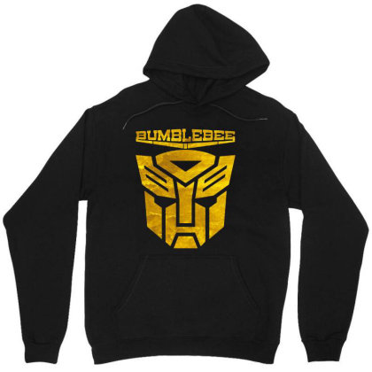 Golden Bumblebee Transformer Unisex Hoodie Designed By Feelgood Tees