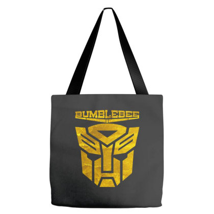 Golden Bumblebee Transformer Tote Bags Designed By Feelgood Tees