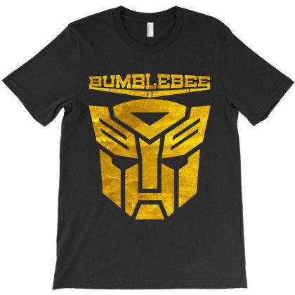 Golden Bumblebee Transformer T-shirt Designed By Feelgood Tees