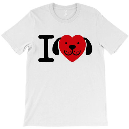 I Love Dogs   Dog Lover Gift T-shirt Designed By Feelgood Tees