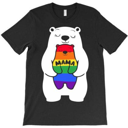 Mama Bear Lgbt T-shirt Designed By Badaudesign