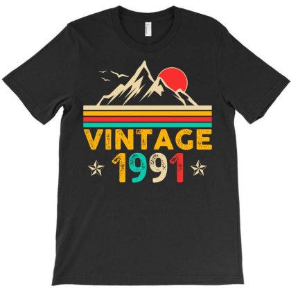Vintage 1991 T-shirt Designed By Badaudesign