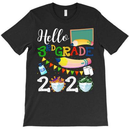 Hello 3rd Grade 2020 T-shirt Designed By Badaudesign
