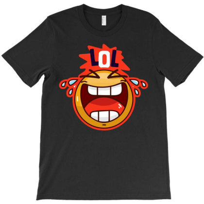 Lol Smile T-shirt Designed By H4ikal