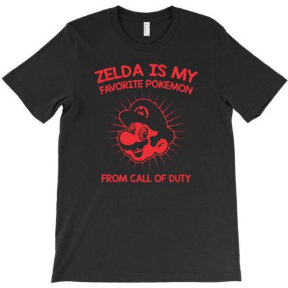 Zelda Is My Favorite T-shirt Designed By H4ikal