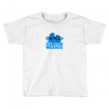 Cancun Mexico! Toddler T-shirt Designed By Irvandwi2