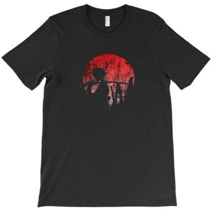 Moon Samurai T-shirt Designed By Disgus_thing