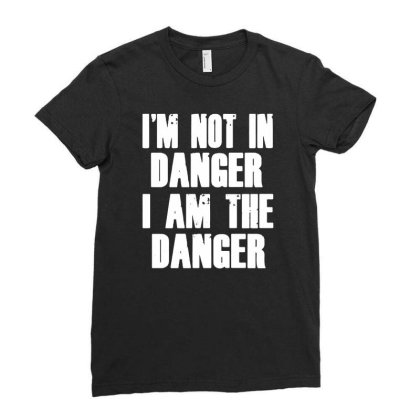 I'm The Danger Funny Men Women T Shirt Cotton S 5xl Black Ladies Fitted T-shirt Designed By G3ry