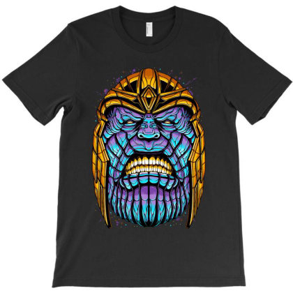 The Mad Titan T-shirt Designed By Glitchygorilla