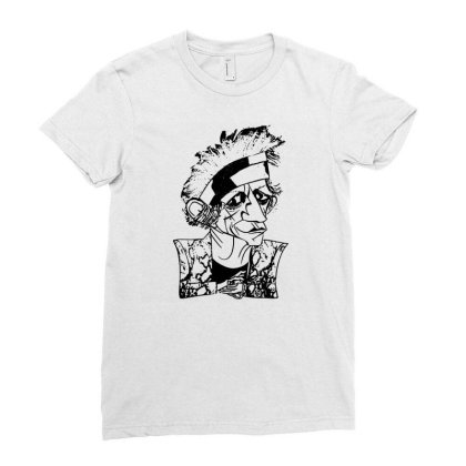 Keith Richards Art T Shirt Funny Cotton Tee Vintage Gift For Men Women Ladies Fitted T-shirt Designed By G3ry