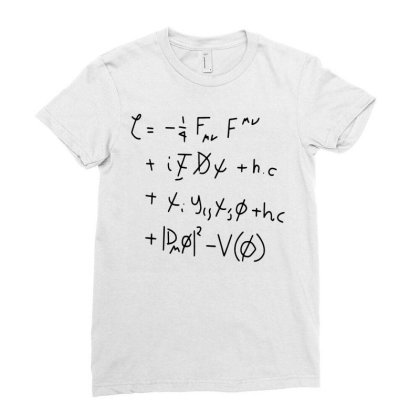 Men's Standard Model Math Equation Funny T Shirt Ladies Fitted T-shirt Designed By G3ry