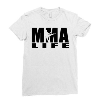 Mma Men T Shirt Funny T Shirt Brand Clothing Fit Fitness Top Streetwea Ladies Fitted T-shirt Designed By G3ry