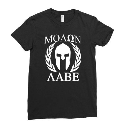 Molon Labe T Shirt Funny Birthday Cotton Tee Vintage Gift For Men Wome Ladies Fitted T-shirt Designed By G3ry