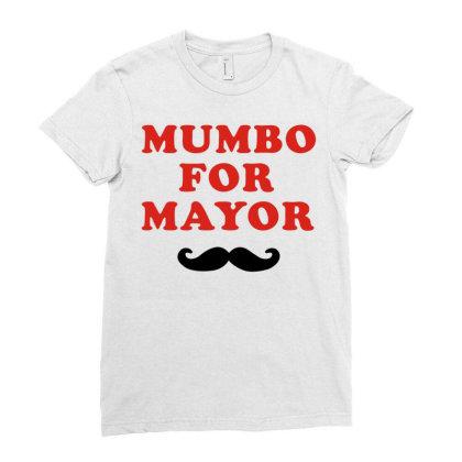 Mumbo For Mayor Beard Funny Gift Men's Cotton Short Sleeve T Shirt Vin Ladies Fitted T-shirt Designed By G3ry