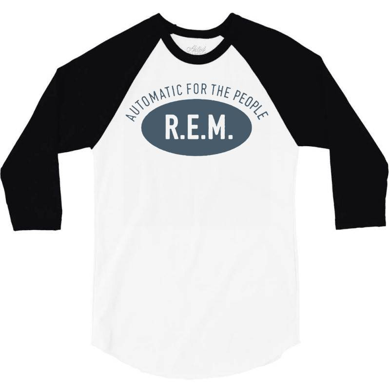 R.e.m 3/4 Sleeve Shirt | Artistshot