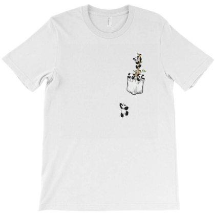 Panda T-shirt Designed By Disgus_thing