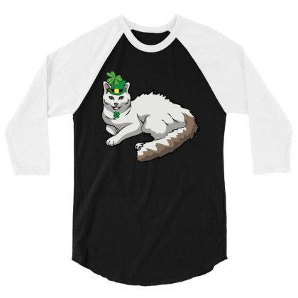 Turkish Van Patricks Day T Shirt 3/4 Sleeve Shirt Designed By Gnuh79