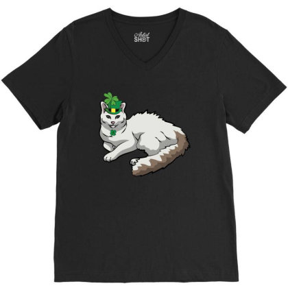 Turkish Van Patricks Day T Shirt V-neck Tee Designed By Gnuh79