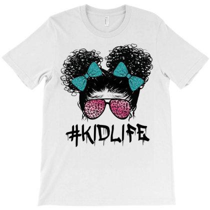 Afro Kid Life T-shirt Designed By Badaudesign