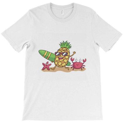 Pineapple Sunglasses T-shirt Designed By Cuser4021