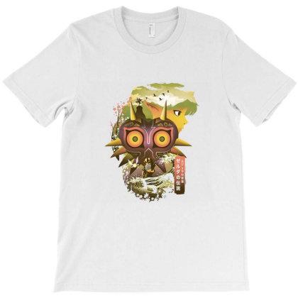 Ukiyoe Majora T-shirt Designed By Cuser4021
