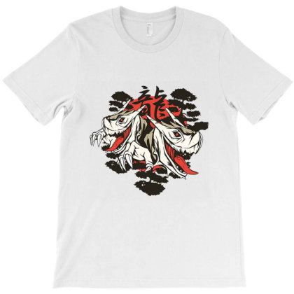 Twin Dragons T-shirt Designed By Cuser4021