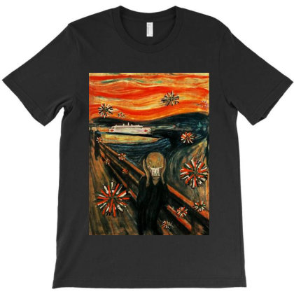 Scream T-shirt Designed By Feelgood Tees