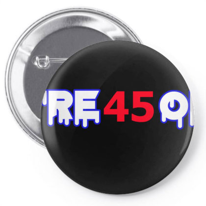 Treson Trump Pin-back Button Designed By Cloudystars
