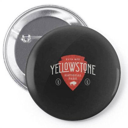 Yellowstone Pin-back Button Designed By Designtees