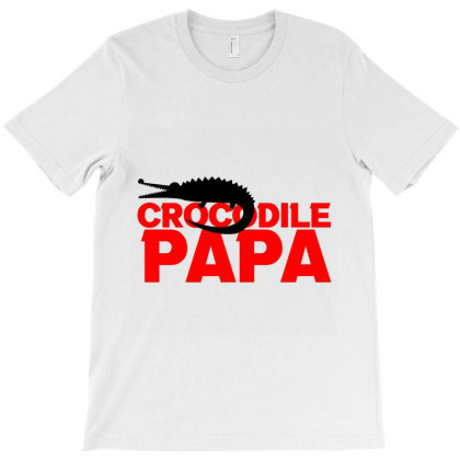 Crocodile Papa T-shirt Designed By Cloudystars