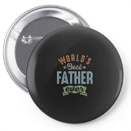 World's Best Father Pin-back Button Designed By Designtees