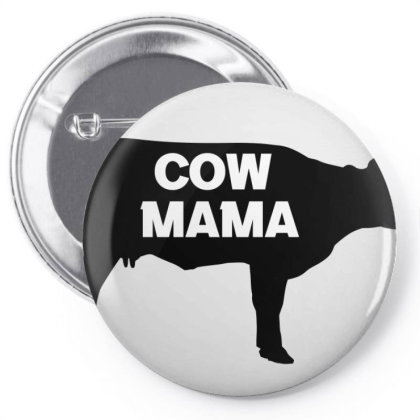 Cow Mama Pin-back Button Designed By Cloudystars