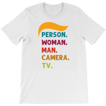 Person Woman Man Camera Tv T-shirt Designed By Cloudystars