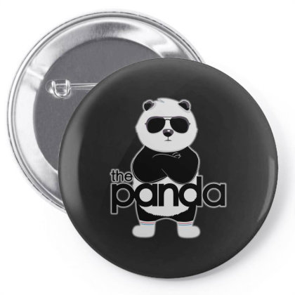 Panda Kids Pin-back Button Designed By Gomarket Tees