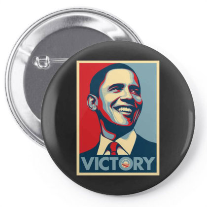 Obama Victory For America 2020 Pin-back Button Designed By Gomarket Tees