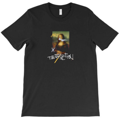 Pixel Art T-shirt Designed By Disgus_thing
