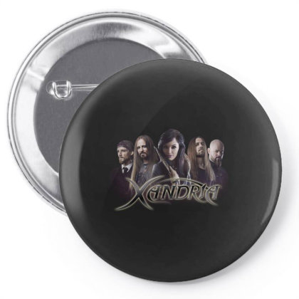 Xandria Band    Theater Of Dimensions Pin-back Button Designed By Nien901118