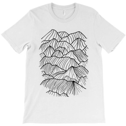 Mountains T-shirt Designed By Gomarket Tees