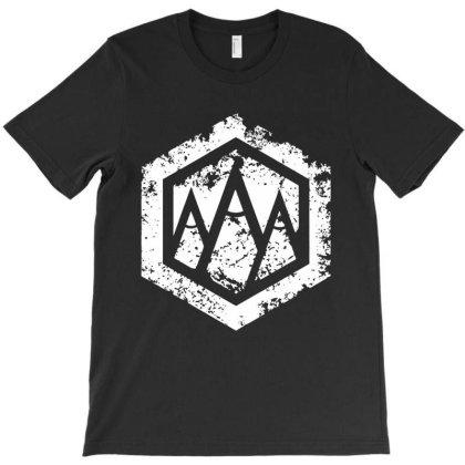 Hexagonal Vintage T-shirt Designed By Designtees