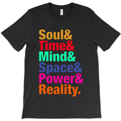 Infinity Gems   Soul& Time& Mind& Space& Power& Reality. T-shirt Designed By Designtees