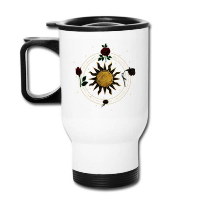 Circle Of Life Travel Mug Designed By Snuggly The Raven