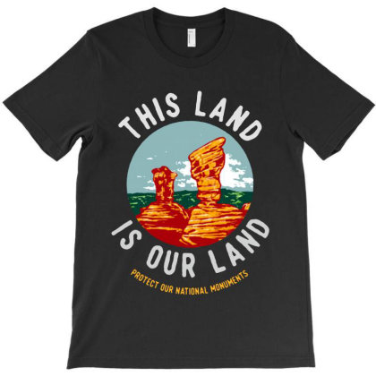 This Land Is Our Land T-shirt Designed By Designtees