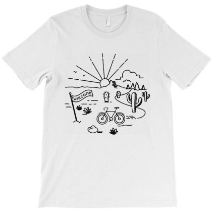 Wellcome Traveler T-shirt Designed By Designtees